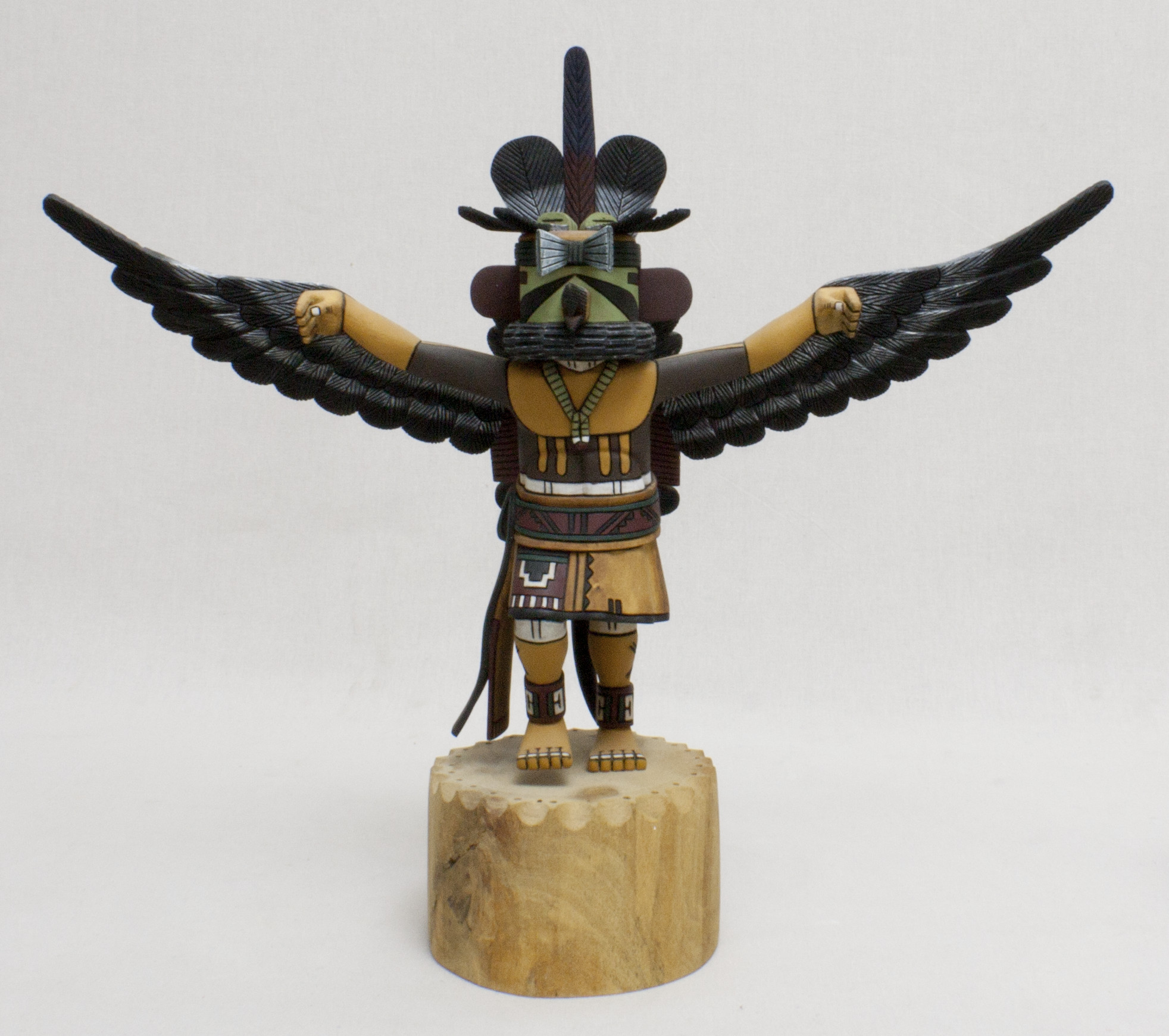 the culture of the kachinas Kachina doll (paiyatemu), late 19th century  some kachinas are taboo  the zuni and the hopi have very different views about the secrecy of the kachina culture.